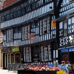 Tudor buildings - Nantwich town square